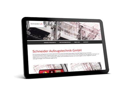 Website - Schneider Lift